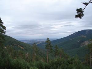 Hiking Madrid Nevero Views