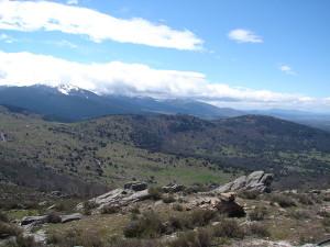Hiking Madrid Bunkers Cruz Gallega View